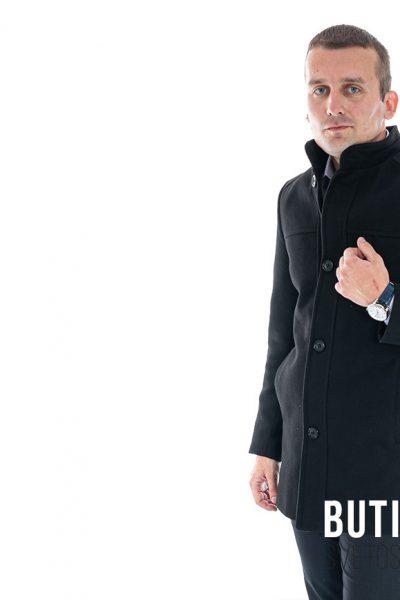 butik samsara zrenjanin muski crni kaput 021