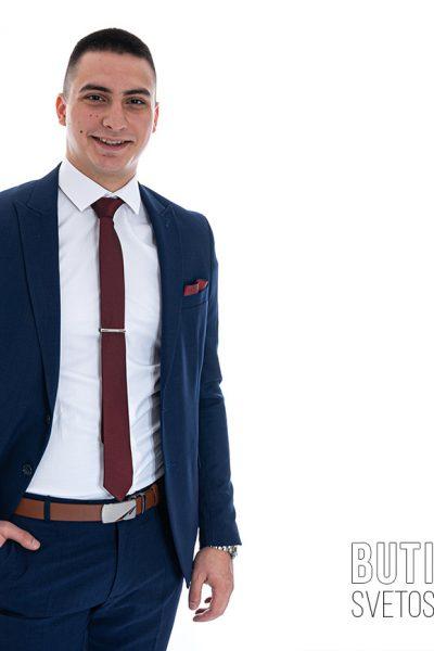 butik samsara zrenjanin musko teget odelo bela kosulja i kravata 012