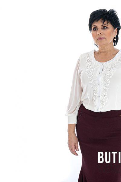 butik samsara zrenjanin zenska bordo suknja bela bluza 001