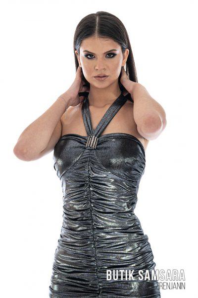 butik samsara zrenjanin zenska srebrna haljina 005